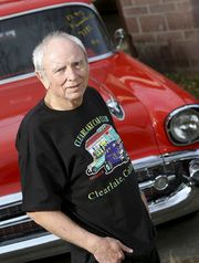 Skip Wilson with 57' Chevy Bel Air